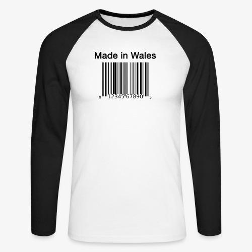Made in Wales - Men's Long Sleeve Baseball T-Shirt