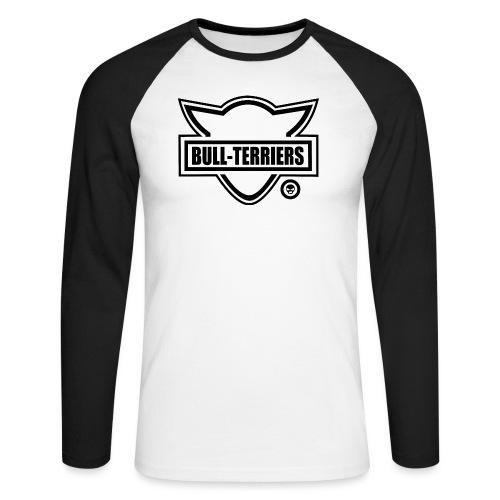 Bull Terrier Original Logo - Men's Long Sleeve Baseball T-Shirt