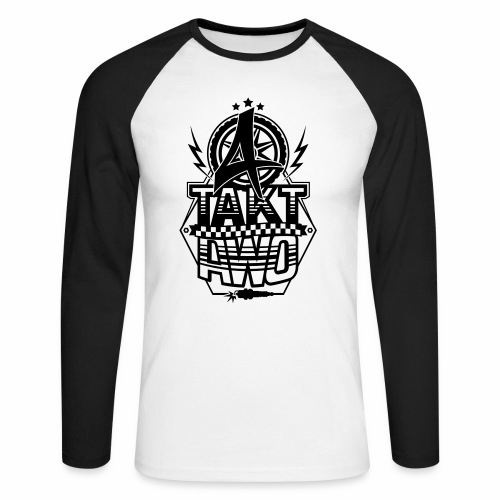 4-Takt-Awo / Viertaktawo - Men's Long Sleeve Baseball T-Shirt