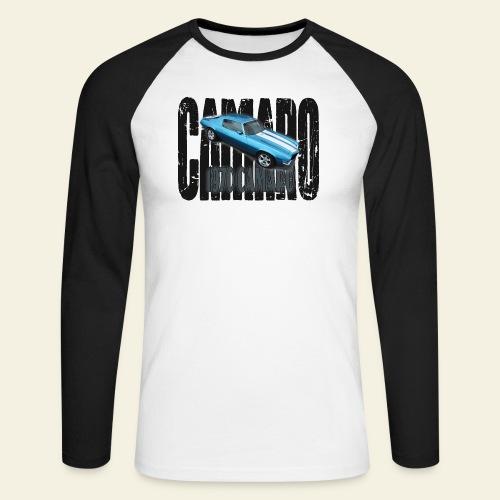 70 Camaro - Langærmet herre-baseballshirt