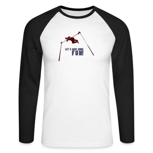 Let s have some FUN - Mannen baseballshirt lange mouw