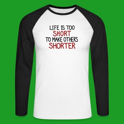 Vegan - T-shirt baseball manches longues Homme