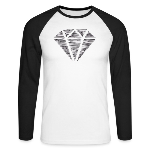 Diamante - Raglán manga larga hombre