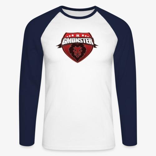 TheGMonster Logo Grand - T-shirt baseball manches longues Homme