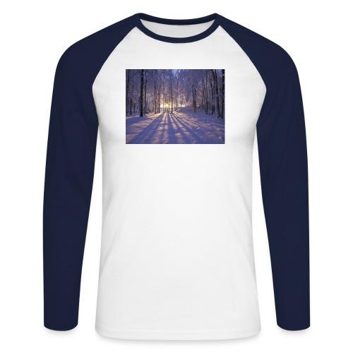 Wintercollectie - Mannen baseballshirt lange mouw