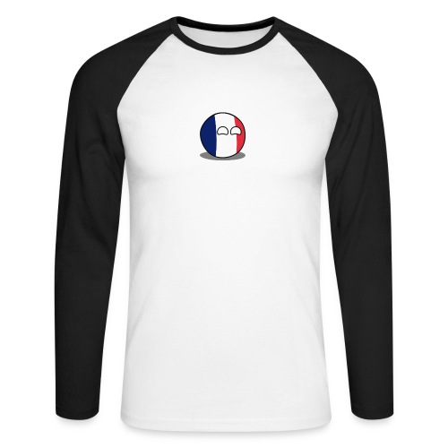 France Simple - T-shirt baseball manches longues Homme