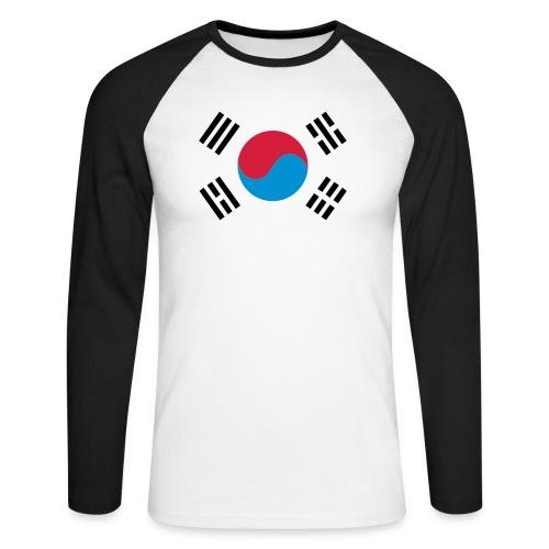 South Korea - Mannen baseballshirt lange mouw