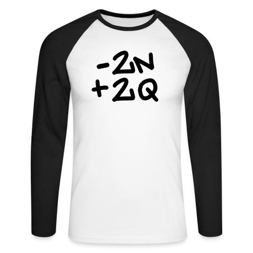 -2n+2q - Men's Long Sleeve Baseball T-Shirt