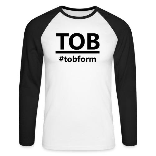 #tobform Hoodi - Männer Baseballshirt langarm