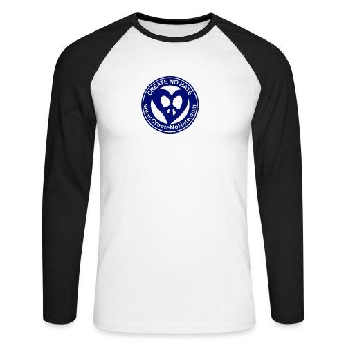 THIS IS THE BLUE CNH LOGO - Men's Long Sleeve Baseball T-Shirt