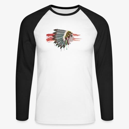 Native american - T-shirt baseball manches longues Homme