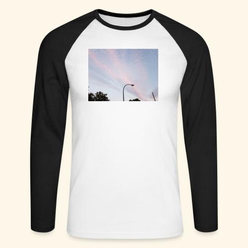 Abendhimmel - Männer Baseballshirt langarm