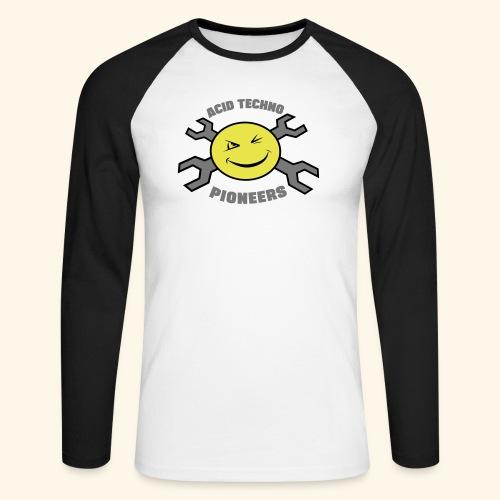 ACID TECHNO PIONEERS - SILVER EDITION - Men's Long Sleeve Baseball T-Shirt