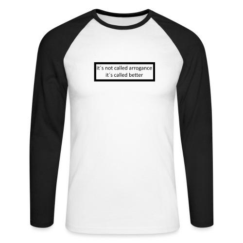 K.E.C original t-shirt - Langærmet herre-baseballshirt