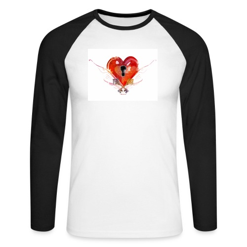 stvalentinmotif2 - T-shirt baseball manches longues Homme