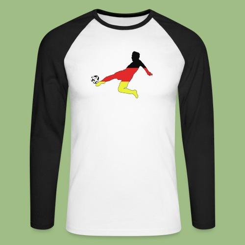 Mario Götze. Germany World Cup Winners - Långärmad basebolltröja herr