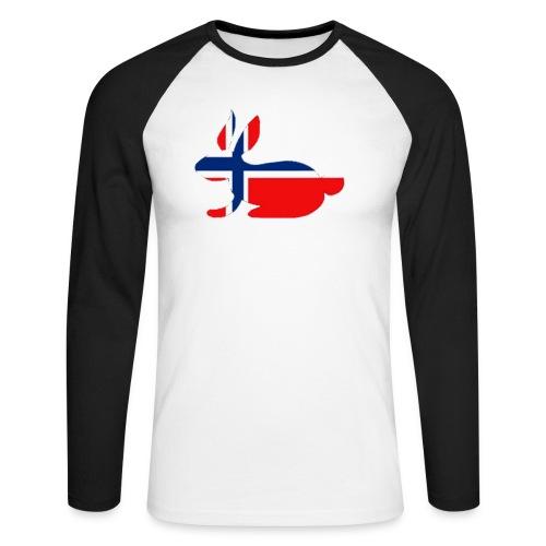 norwegian bunny - Men's Long Sleeve Baseball T-Shirt