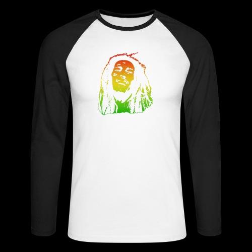 King of Reggae - Männer Baseballshirt langarm
