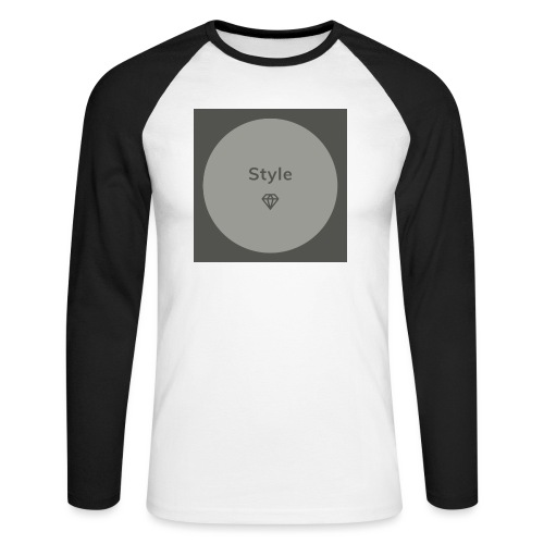 Style - Männer Baseballshirt langarm