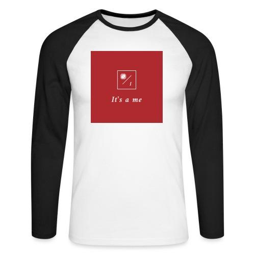 It's a me - Männer Baseballshirt langarm