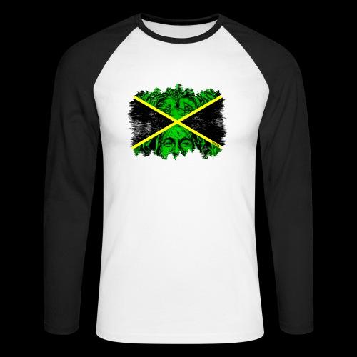 LION BOB JAMAICA - Männer Baseballshirt langarm