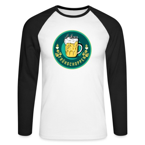 I love Frühschoppen - Männer Baseballshirt langarm