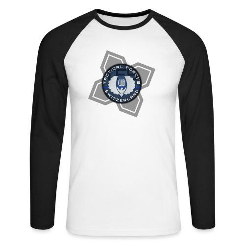 TFS Badge Bleu - T-shirt baseball manches longues Homme