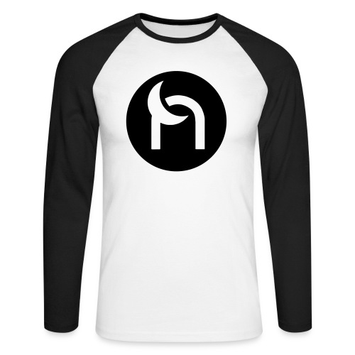 Nocturnal Samurai Black - Men's Long Sleeve Baseball T-Shirt