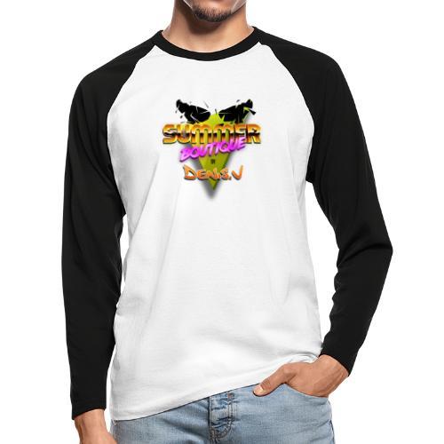 logo summer boutique - T-shirt baseball manches longues Homme