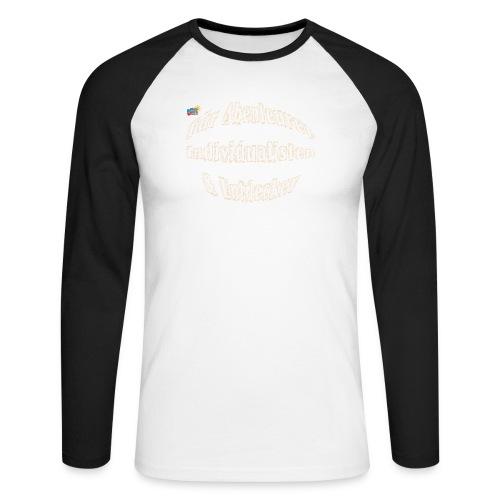 Abenteuerer Individualisten & Entdecker - Männer Baseballshirt langarm