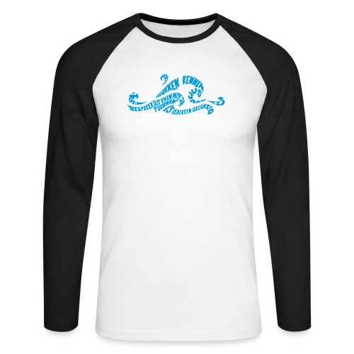 EZS T shirt 2013 Front - Mannen baseballshirt lange mouw