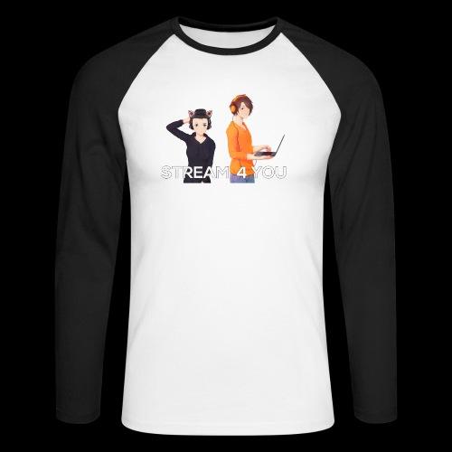 Unsere Logo - Männer Baseballshirt langarm