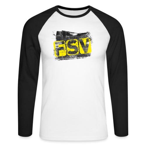 Hildburghausen FSV 06 Graffiti black - Männer Baseballshirt langarm