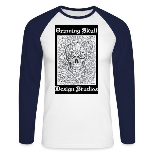grims1 jpg - Men's Long Sleeve Baseball T-Shirt