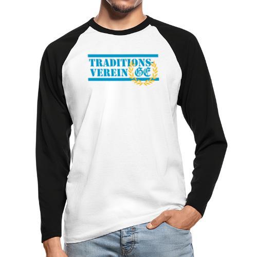 Traditionsverein - Männer Baseballshirt langarm