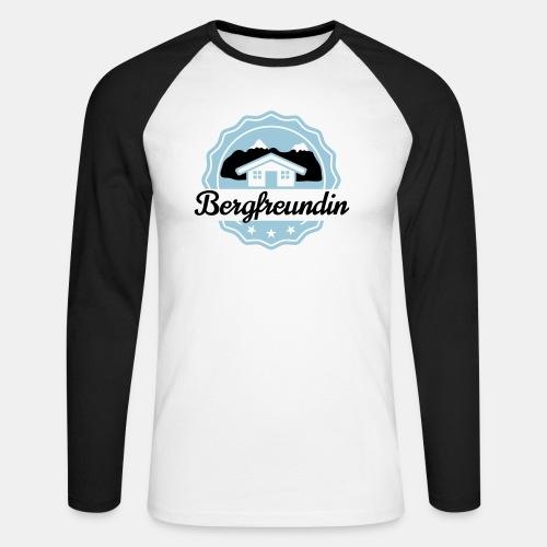 Bergfreundin - Männer Baseballshirt langarm