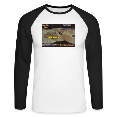 Enemy_Vevo_Picture - Men's Long Sleeve Baseball T-Shirt