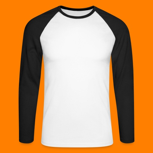 periodic white - Men's Long Sleeve Baseball T-Shirt