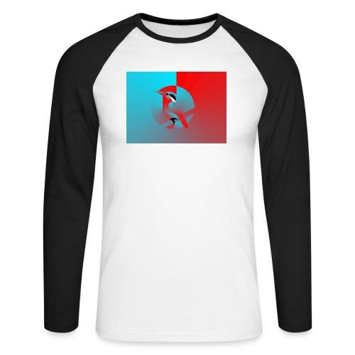 Vogel - Männer Baseballshirt langarm