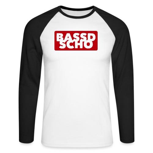 BASSD SCHO - Männer Baseballshirt langarm