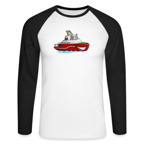 Boaty McBoatface - Men's Long Sleeve Baseball T-Shirt