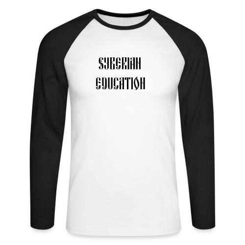 Russia Russland Syberian Education - Men's Long Sleeve Baseball T-Shirt