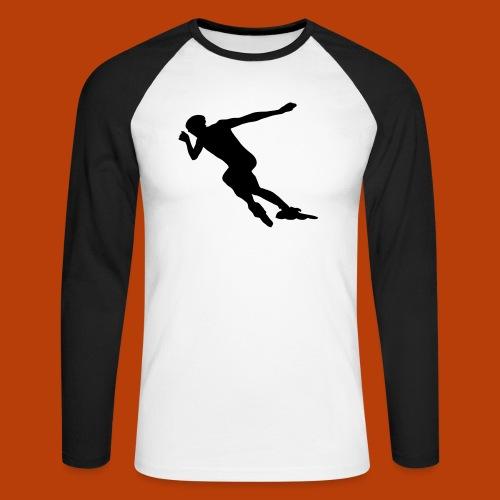 Speedskater - Männer Baseballshirt langarm
