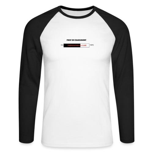 Prof en chargement - T-shirt baseball manches longues Homme