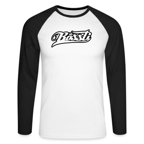 Bossti Hoodie - Männer Baseballshirt langarm