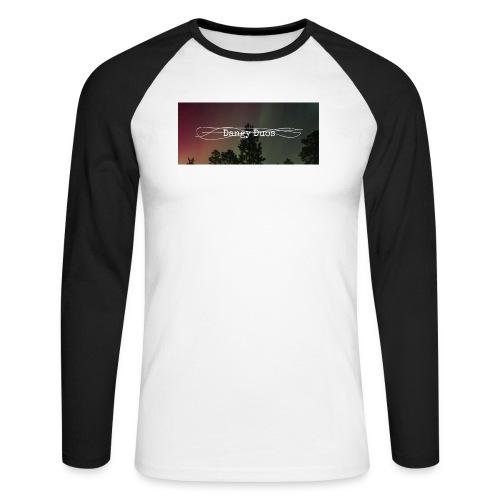 dangy_tru - Mannen baseballshirt lange mouw