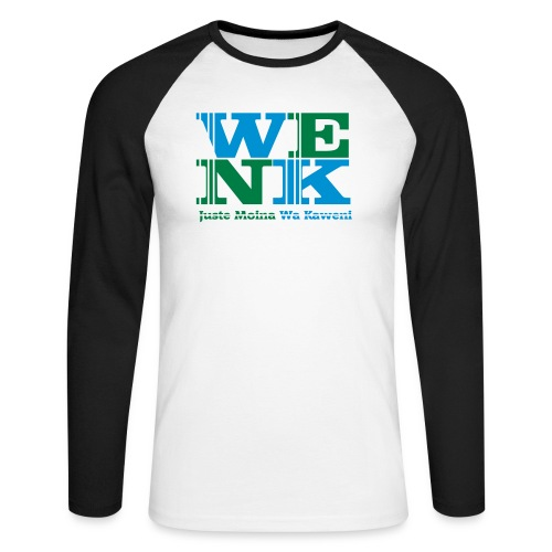 WENK - T-shirt baseball manches longues Homme