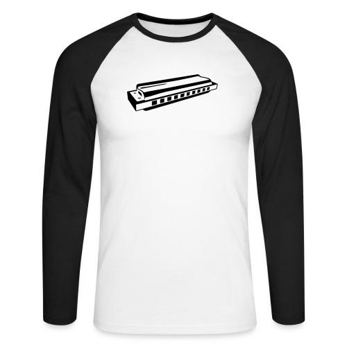 Harmonica - Men's Long Sleeve Baseball T-Shirt