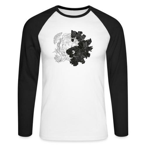 New Yin Old Yang - Men's Long Sleeve Baseball T-Shirt
