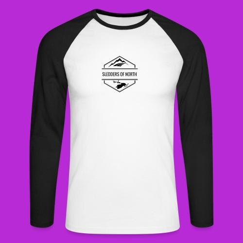 Water bottle - Men's Long Sleeve Baseball T-Shirt